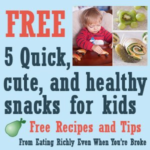 Free Healthy Toddler Snacks