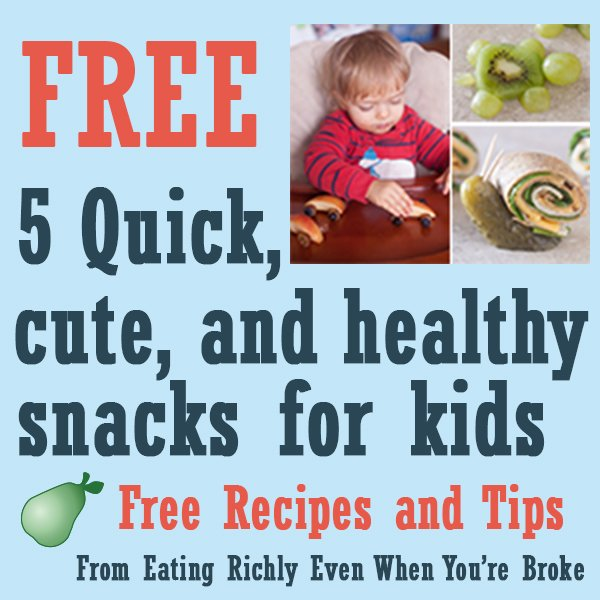 Free cute kid snacks email