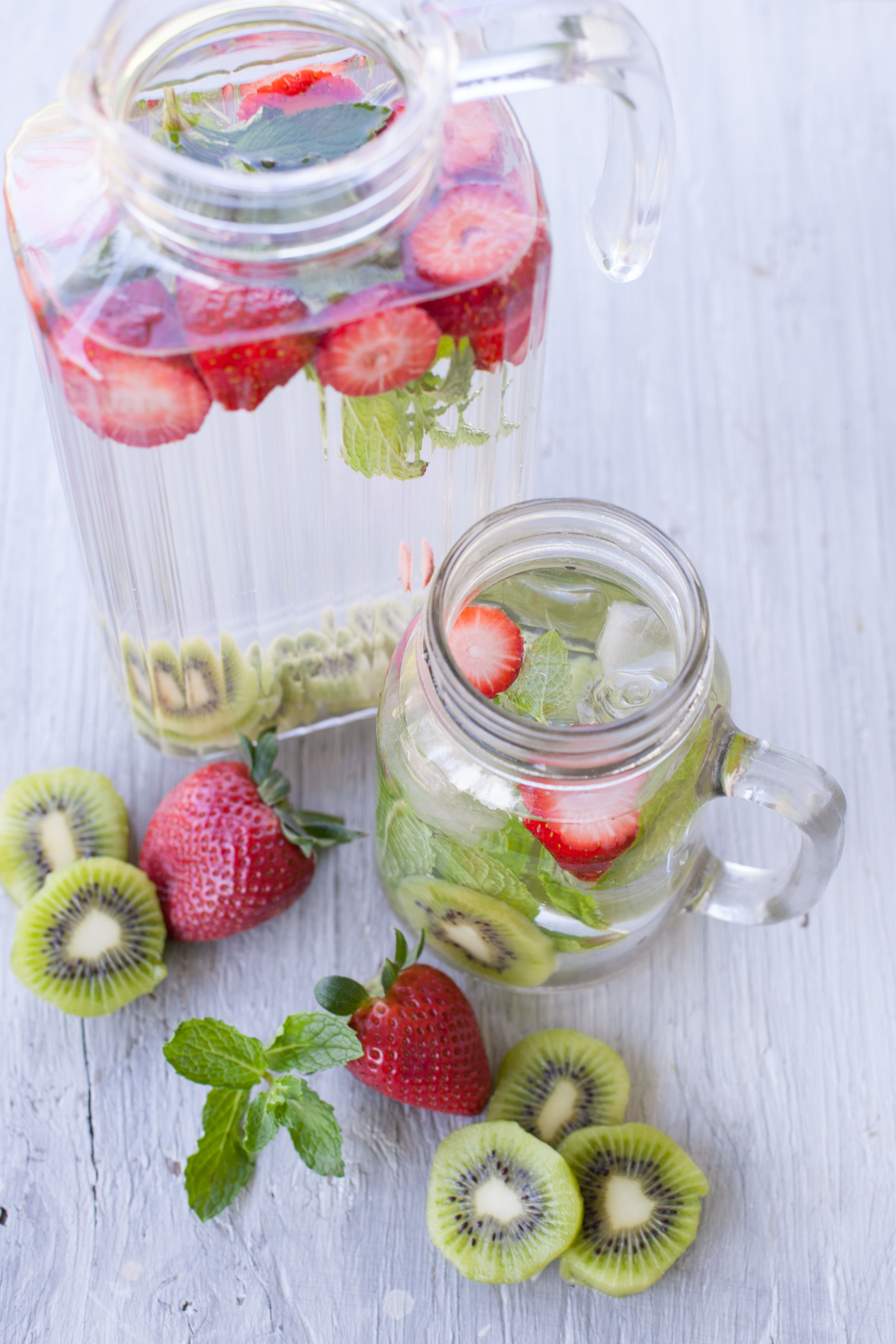 Strawberry Kiwi Water And Health Benefits Of Infused Water