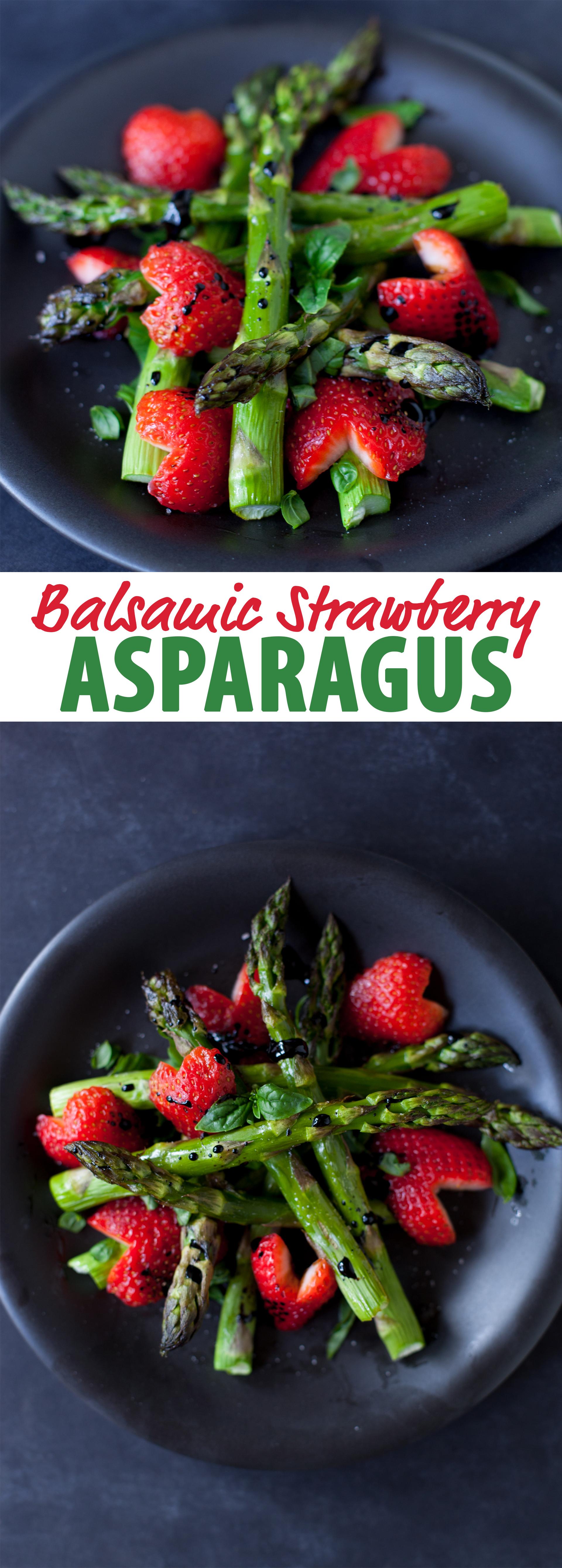 Menu For Olive Garden: Balsamic Strawberry Asparagus Recipe