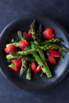 Balsamic strawberry asparagus recipe