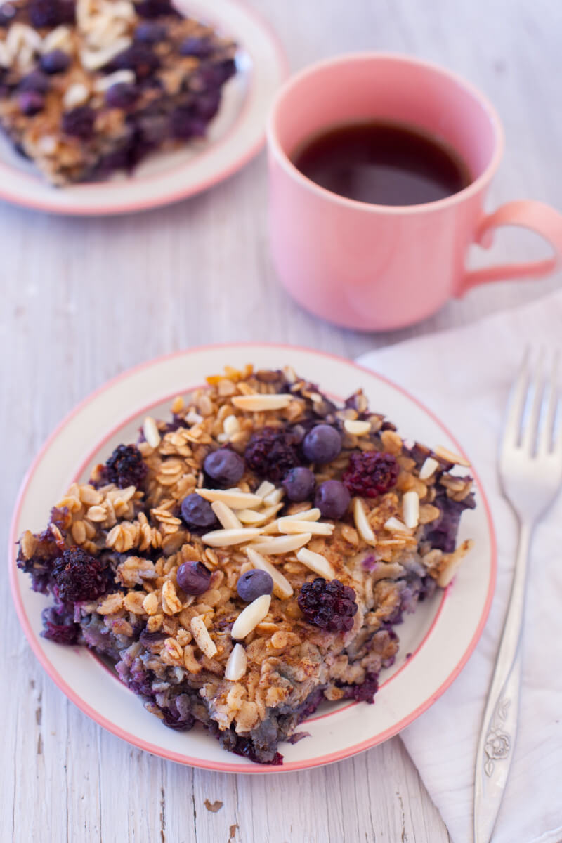 kid friendly oatmeal This easy black and blueberry baked oatmeal recipe is a healthy breakfast to make ahead & enjoy throughout the week, or perfect to feed a crowd at brunch. From EatingRichly.com