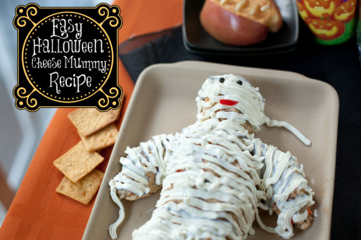 Cheese Mummy: The Best Halloween Potluck Recipe