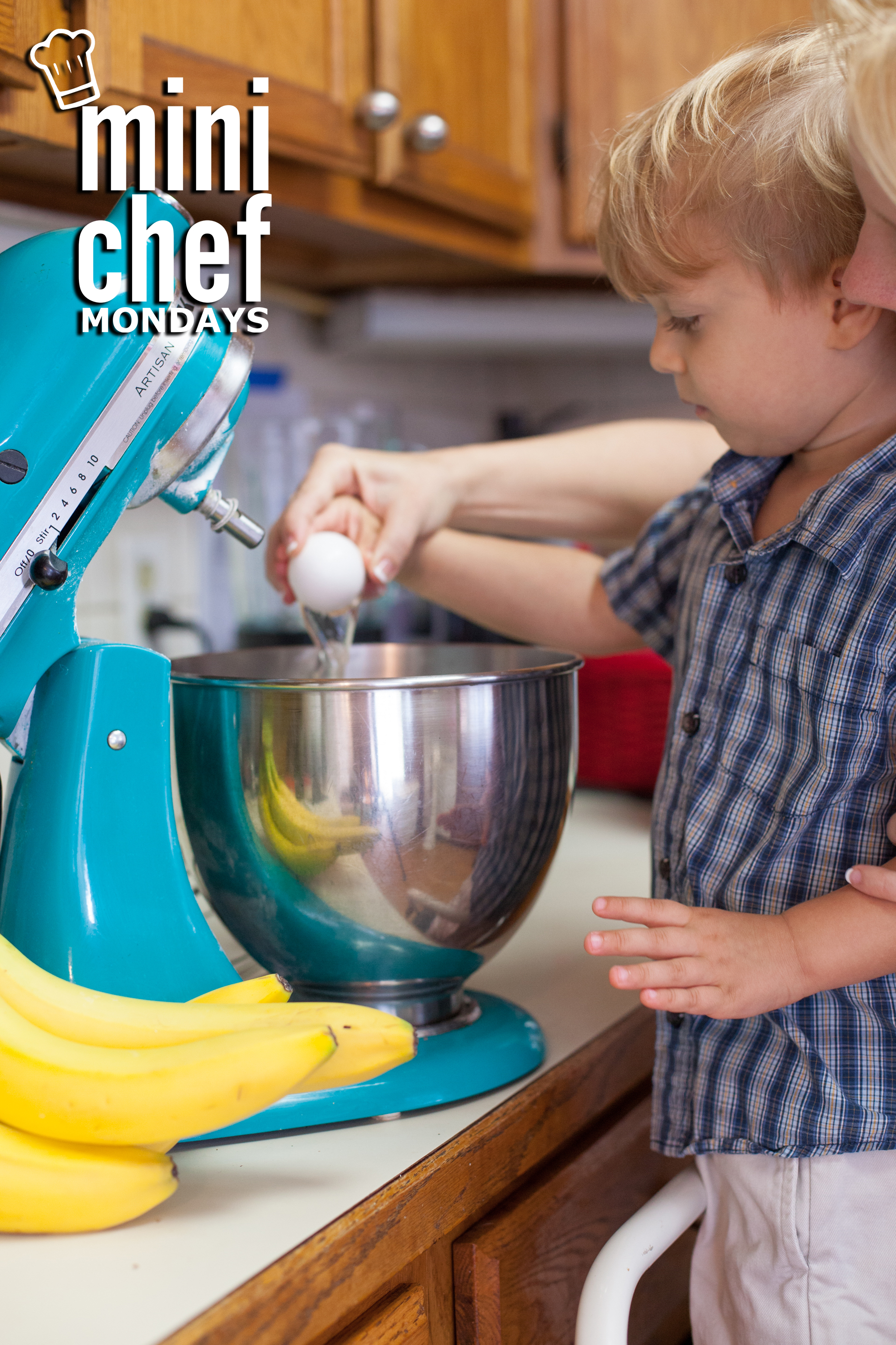 How to Make Banana Pancakes – Mini Chef Mondays