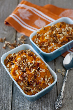 Healthy Coconut Ginger Sweet Potato Casserole Recipe