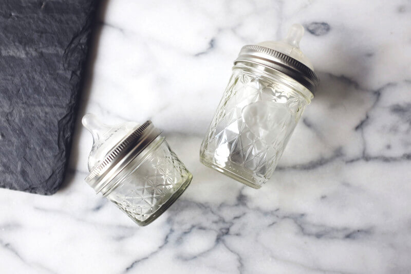 Mason jar baby bottle kickstarter.