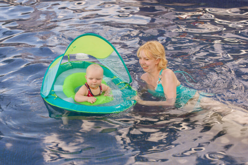 Wondering what you need to take a toddler or baby swimming? We're sharing the best baby pool float & all the gear you need to keep your little ones safe.