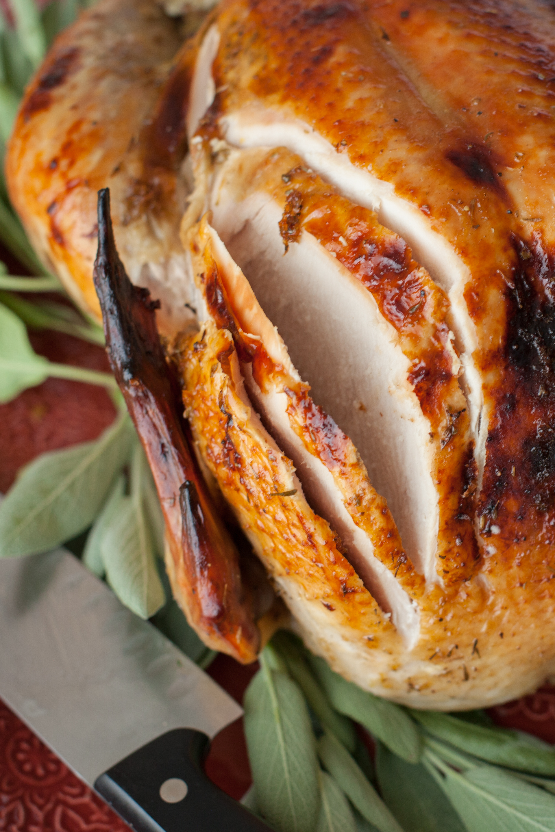 How to Cook a Turkey with Maple Butter