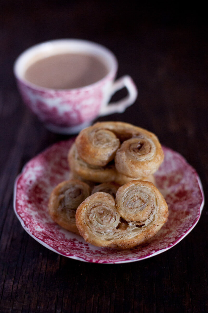 Palmiers Are Easy French Pastries Made From Puff Pastry Dough So Simple My Toddler