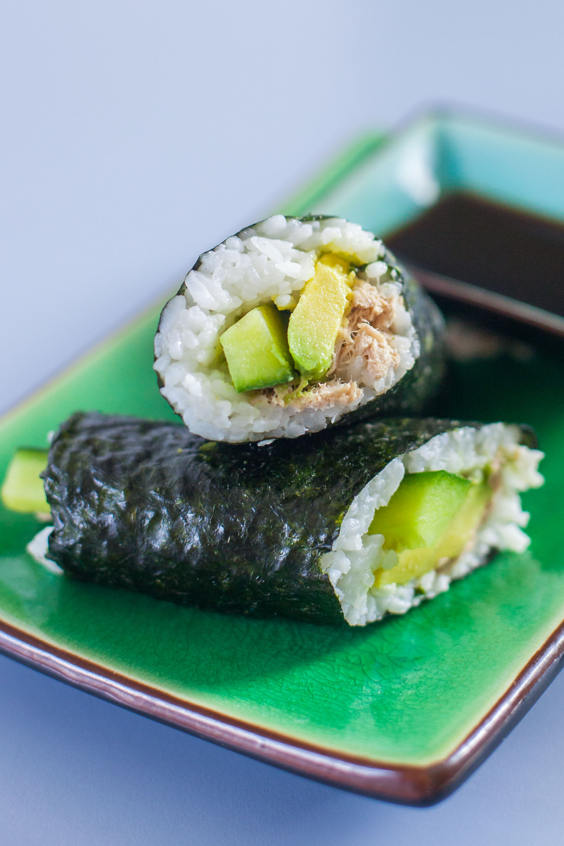 Eating richly canned tuna salad sushi for kids for Fish for sushi