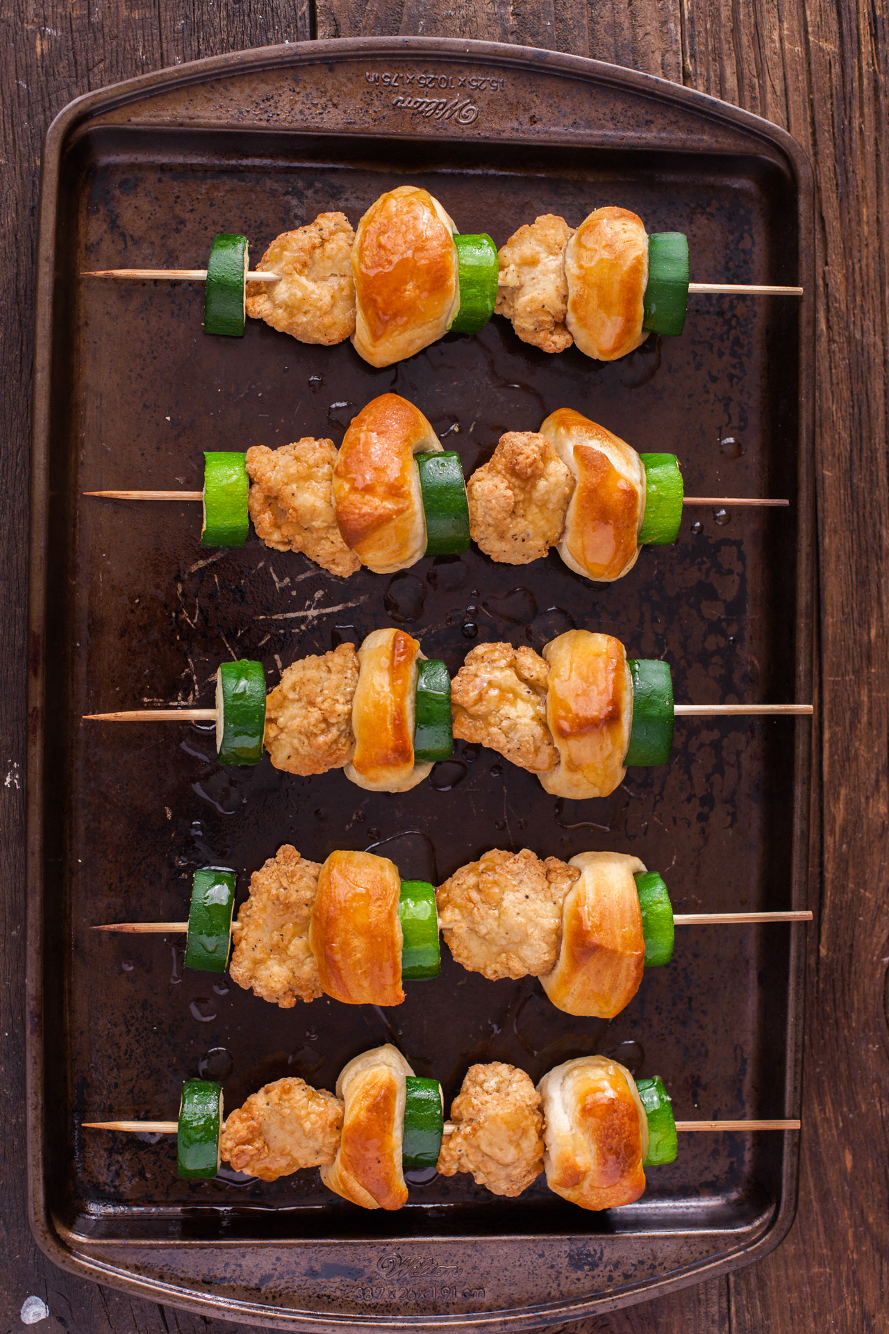 Kid Friendly Meal Chicken Nugget Kabobs