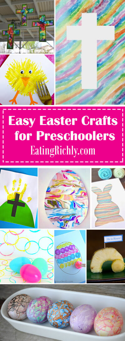 Easter Crafts For Preschoolers Easter Egg Slime