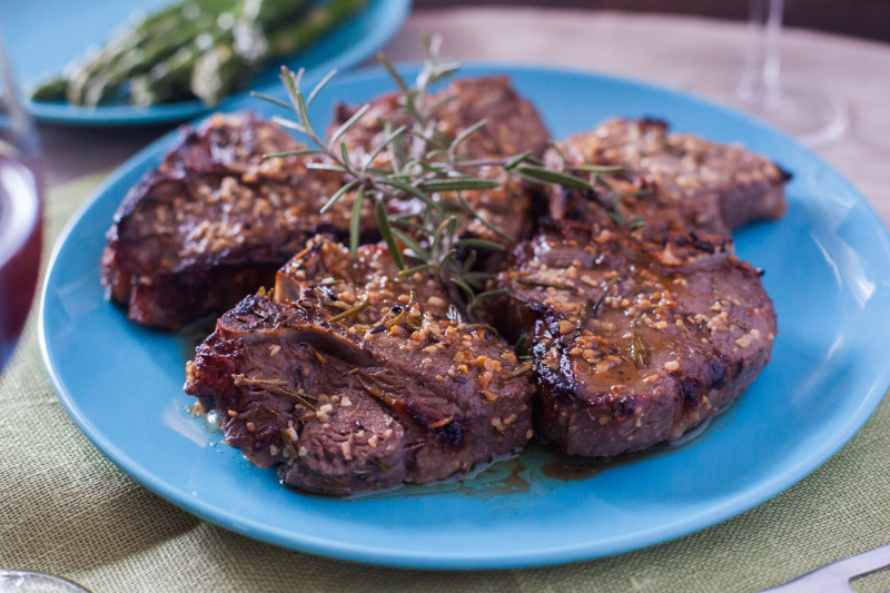 Oven baked lamb cutlets recipe