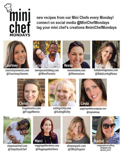 Mini Chef Mondays brings you great posts all about cooking with kids. Check it out every Monday and join us on social media with #MiniChefMondays