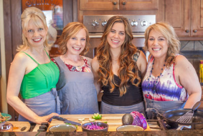 Invigorate Retreat sponsored by Old El Paso with bloggers Diana of Eating Richly, Rose of Half Her Size, Dani of The Adventure Bite, and Bobbi of Bobbi's Kozy Kitchen. Check out all the details of our awesome, all expense paid blogger work retreat! #InvigorateRetreat #OldElPaso