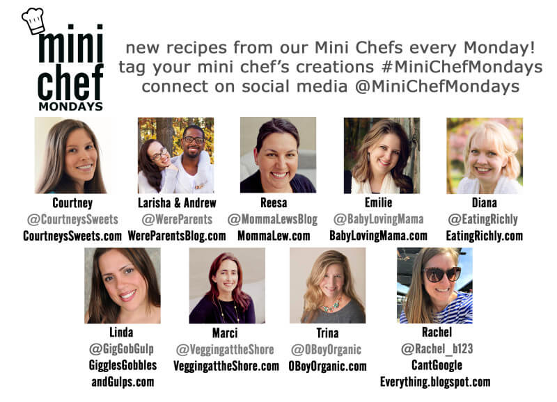 New recipes every Monday with Mini Chef Mondays.