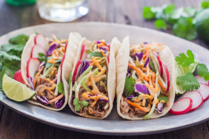 Crockpot Korean Tacos Recipe