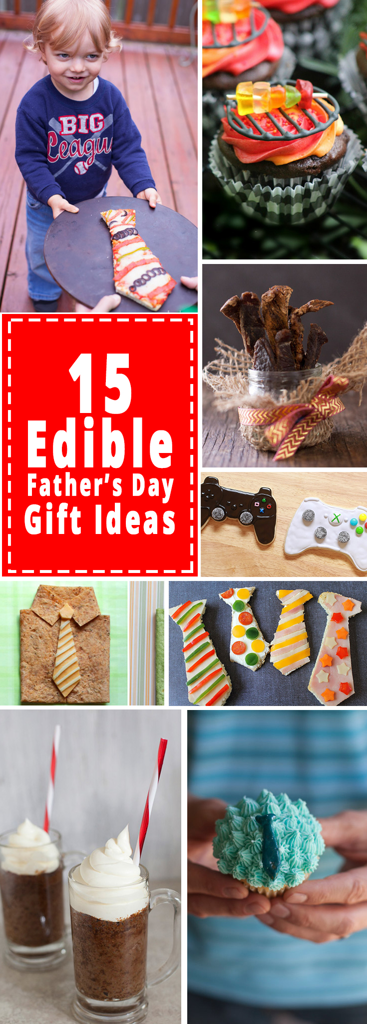 15 creative edible Father's Day gifts that kids can make for dad!