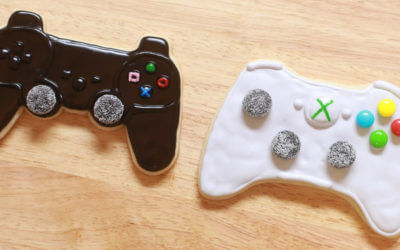 Controller cookies. See all 15 creative edible Father's Day gifts on EatingRichly.com.