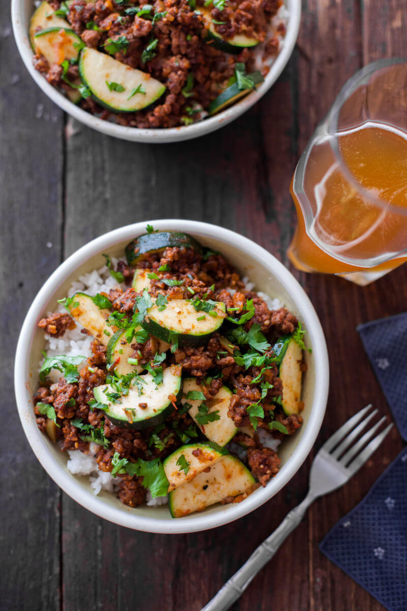 Zucchini Beef Skillet Recipe A One Pot Paleo Dinner