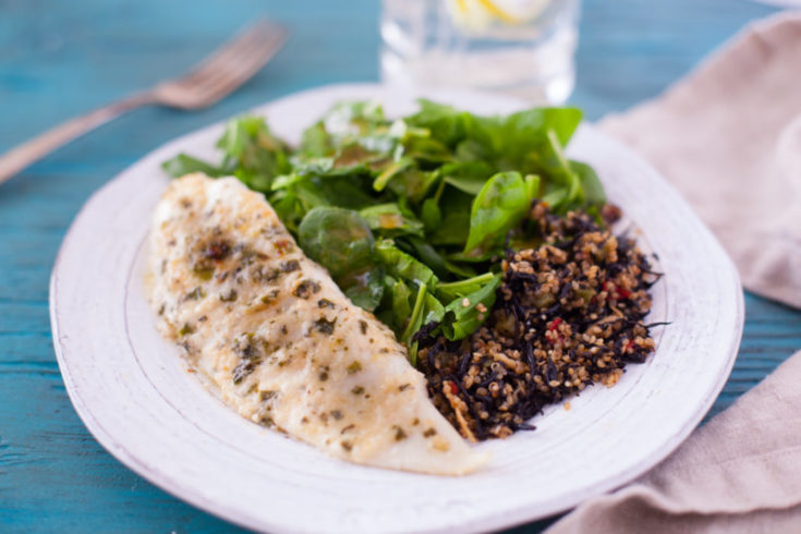 Best Tilapia Recipe: 15 Minute Parmesan Tilapia