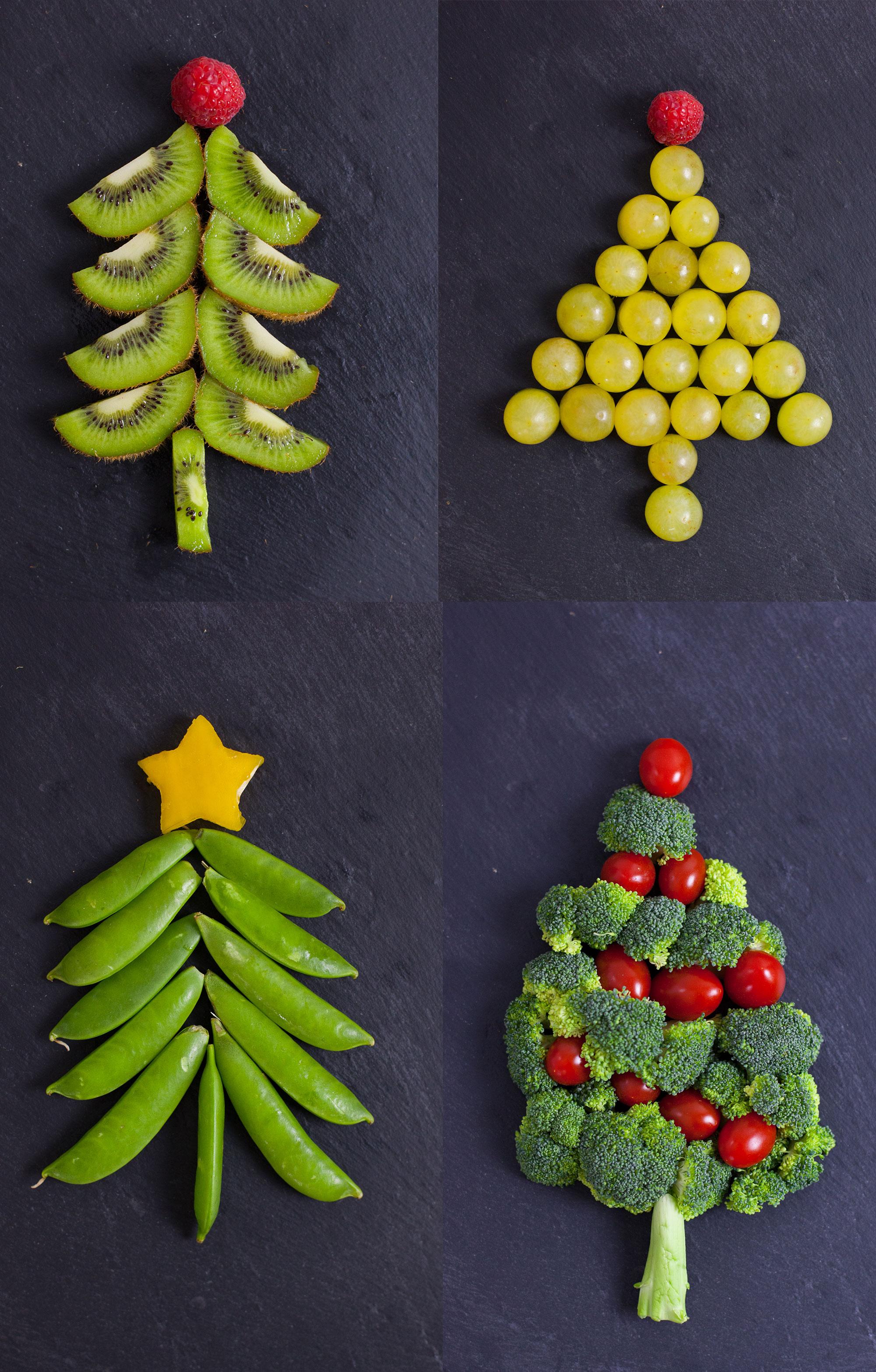 Easy Christmas Snacks That Look Like Christmas Trees