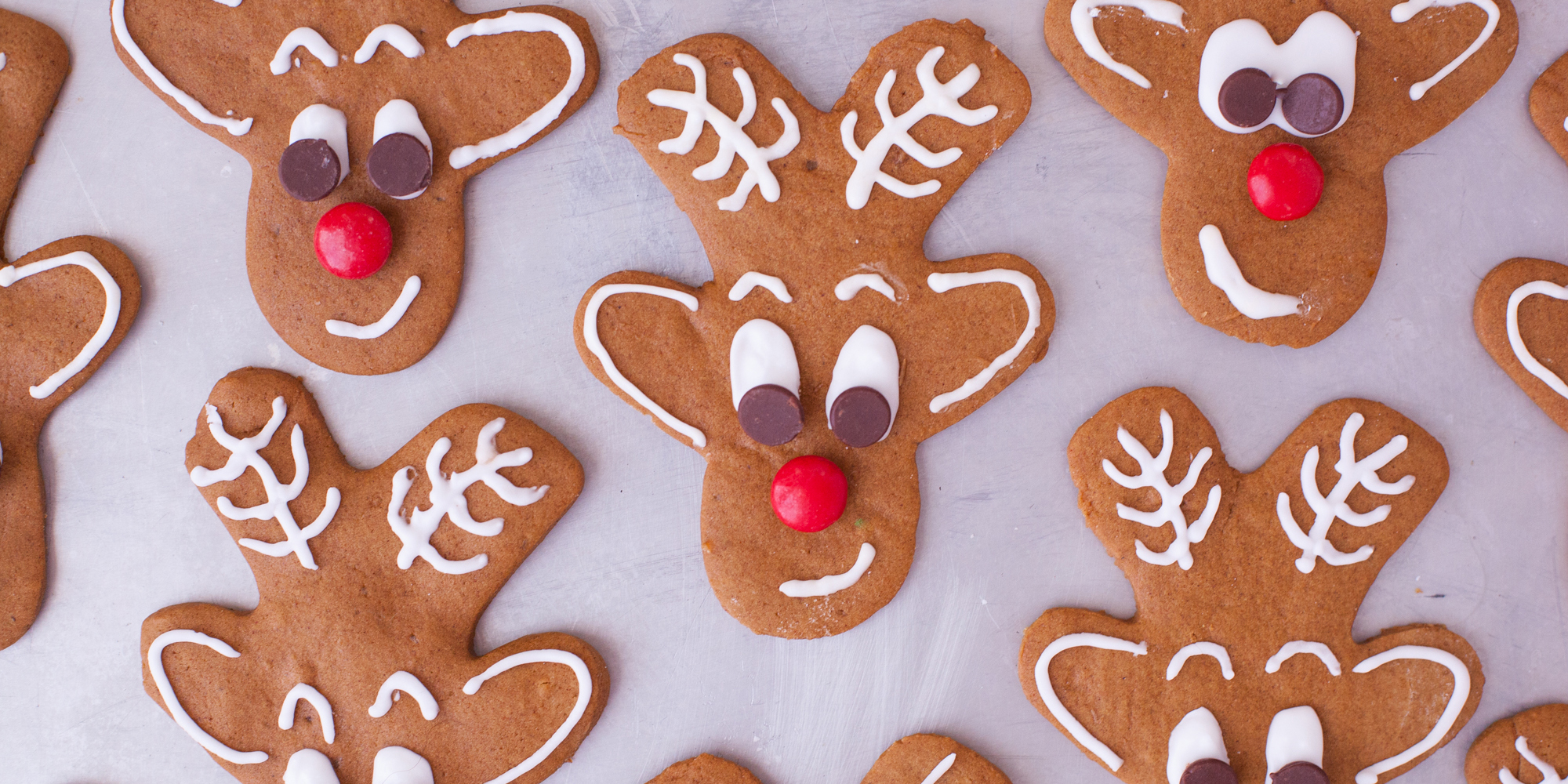 Reindeer Gingerbread Cookies From Gingerbread Men