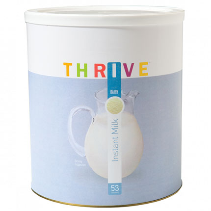 Thrive Life Instant Milk is perfect for healthy peanut butter balls.