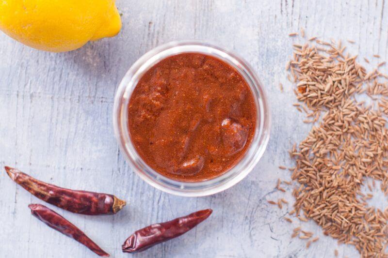 homemade fajita sauce