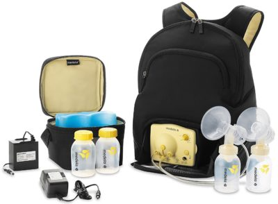The Medela Pump in Style Backpack is the perfect pump for working, nursing, moms. Check out all of our traveling and pumping tips on EatingRichly.com