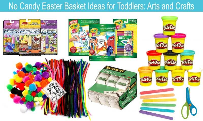 no candy easter basket ideas for toddlers eating richly