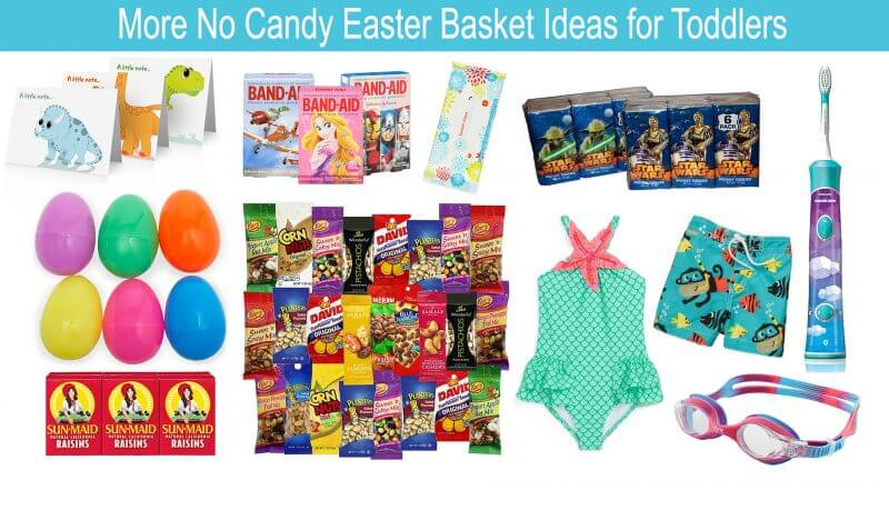 From arts and crafts to outdoor fun, check out 30 no candy Easter Basket ideas for toddlers! From EatingRichly.com