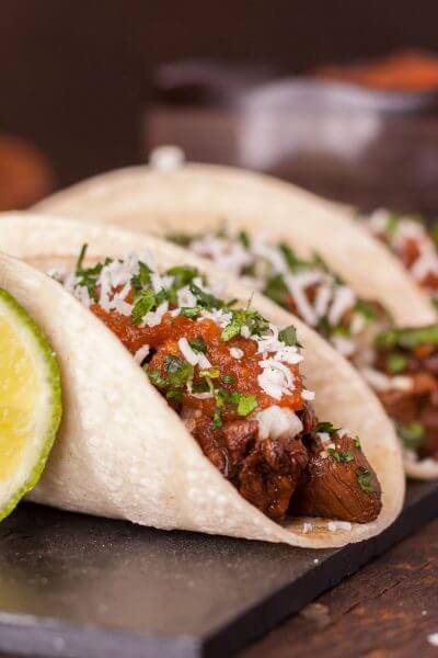 Traditional Carne Asada Taco Recipe with Homemade Salsa