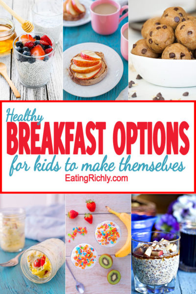 Healthy Breakfast Options Kids Can Make
