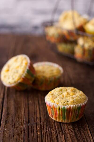 Healthy Vegetable Muffins for Dinner