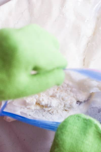 Homemade Bag Ice Cream for Kids