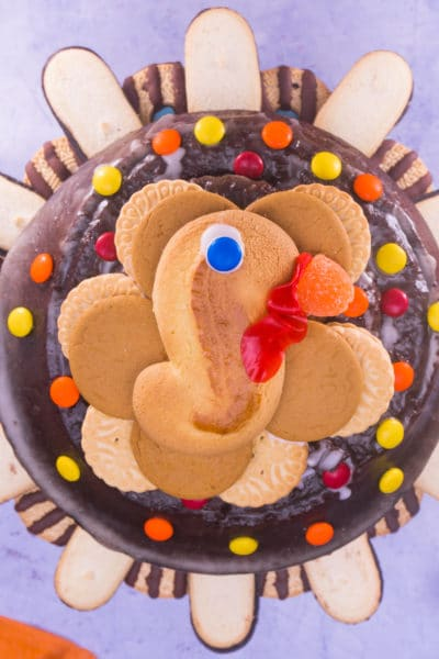 Easy Turkey Cake is Ready in TEN MINUTES!