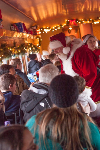 The Polar Express Train Ride is a railway adventure where children's Christmas dreams come true. From EatingRichly.com