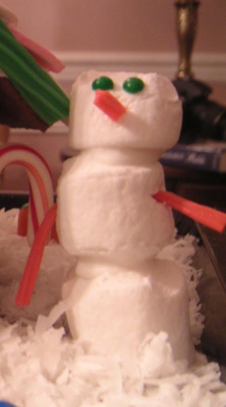Number Three snowman