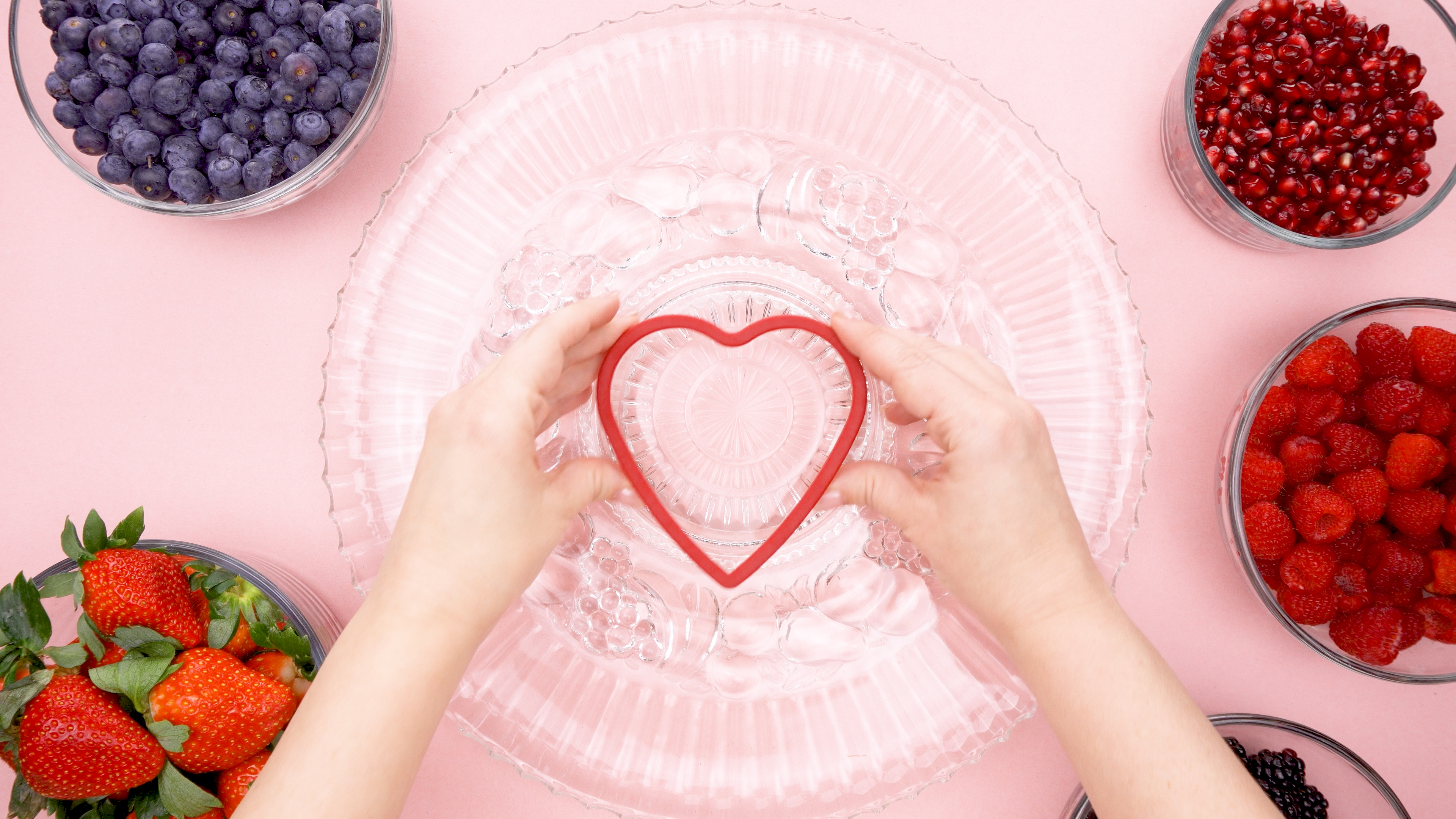 Heart Cookie Cutter for Fruit Tray