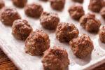 Homemade Meatballs with Mushrooms
