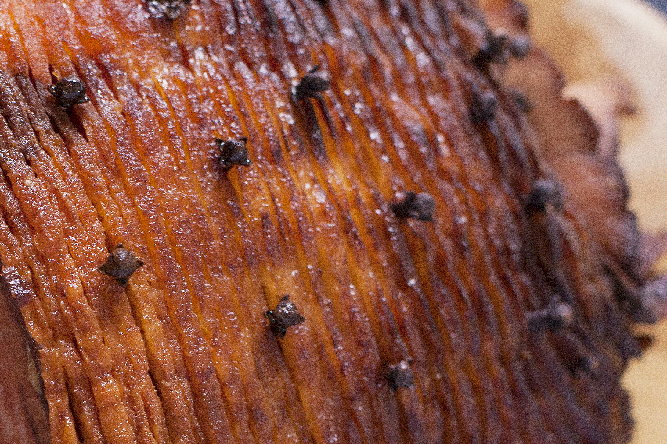 Cloves in Honey Baked Ham