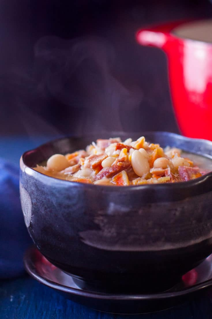 Ham and Bean Soup Recipe with Leftover Ham