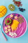 Pink Dairy Free Smoothie Bowl