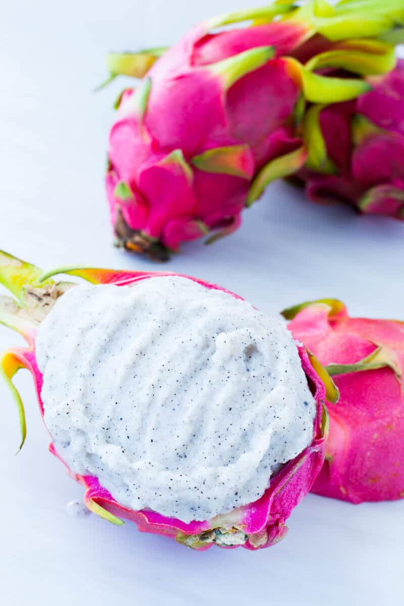 Dragon Fruit Soft Serve
