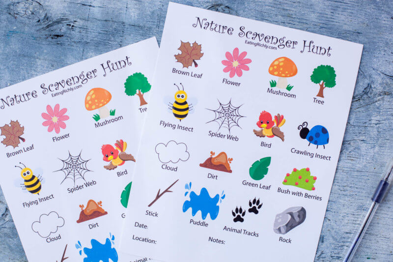 photo relating to Printable Scavenger Hunt for Kids titled Character Scavenger Hunt Printable for Small children - Ingesting Richly