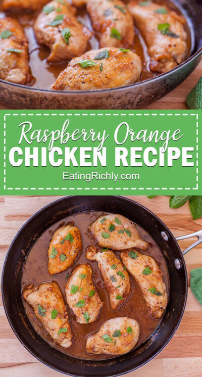 Raspberry Orange Chicken Sauce Healthy
