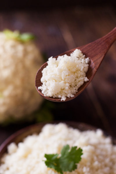 Cauliflower Rice Recipe with Stove, Oven, & Microwave Instructions