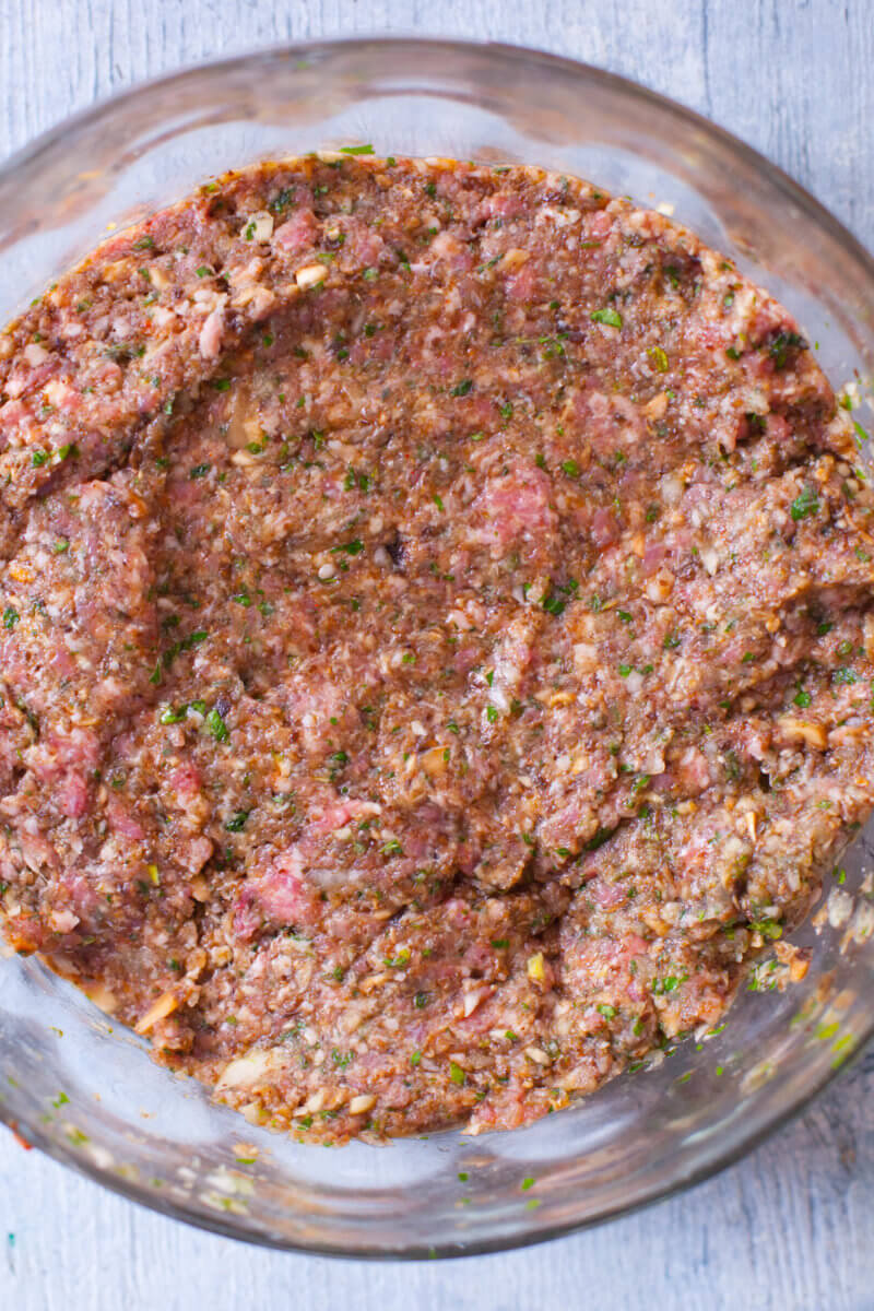 lamb mixture for ground lamb kofta