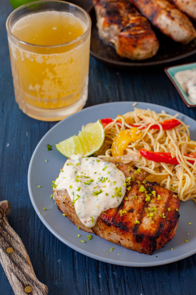Easy Dinner Grilled Pork Chops